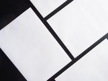 Quadratischer Flieger stockfotografie