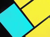 Quadratischer Flieger stockfoto