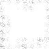 Quadratischer Halbtonhintergrund der quadratischen Elemente Stockbilder