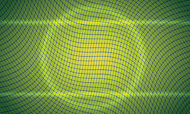 Quadratischer hellgrüner Hintergrund mit zentriertem circl Vektor Abbildung