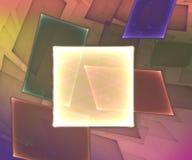 Quadratischer Hintergrund Lizenzfreies Stockfoto