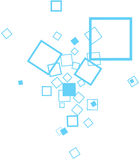 Quadratischer Hintergrund Stockbild
