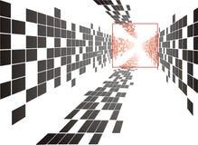 Quadratischer Hintergrund Stockfoto