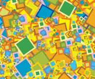 Quadratischer Hintergrund Stockfotografie