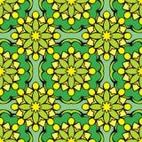 Quadratischer Hintergrund - dekoratives nahtloses Muster Stockfotografie