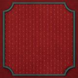 Quadratischer Hintergrund mit Weinlesespant 6. Lizenzfreies Stockbild