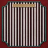 Quadratischer Hintergrund mit Weinlesespant 4. Stockfotografie