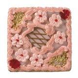 Quadratischer Kuchen Stockbild