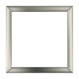 Quadratischer Metallrahmen Stockfotografie