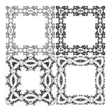 Quadratischer Rahmen für ein Porträt Lizenzfreie Stockfotografie