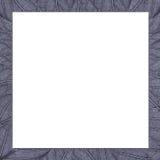 Quadratischer Rahmen von Metallbeschaffenheitsblättern Stockbilder