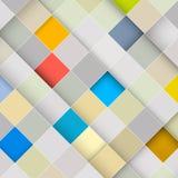 Quadratischer Retro- Hintergrund Stockfoto