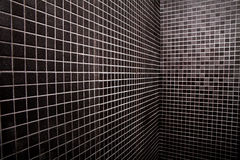 Quadratischer Schwarzweiss-Hintergrund Stockfotos