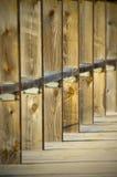 Quadratisches Bauholz Stockbilder