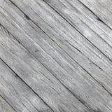 Quadratisches Bild von den alten rauen grauen hölzernen Planken diagonal gesetzt stockfoto