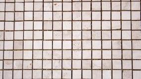 Quadratisches buntes Mosaik des Travertins Lizenzfreies Stockbild