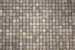 Quadratisches buntes Mosaik des Travertins Lizenzfreie Stockfotos