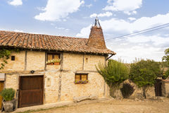 Quadratisches Calatanazor, Soria, Spanien Stockfotografie