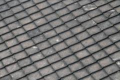 Quadratisches Dachmuster stockfotos