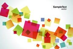 Quadratisches Fallen Stockfoto