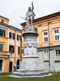 Quadratisches Garibaldi gewidmet dem Helden der zwei Welten Lizenzfreie Stockfotos