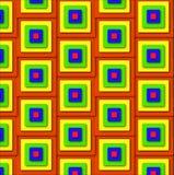 Quadratisches Muster Lizenzfreie Stockfotografie
