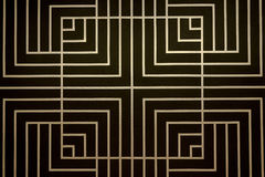 Quadratisches Muster Lizenzfreies Stockbild