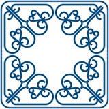 Quadratisches Muster Stock Abbildung