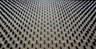 Quadratisches Muster auf einer Wand lizenzfreie stockfotografie
