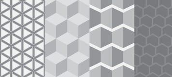 Quadratisches nahtloses Muster Lizenzfreie Stockfotos
