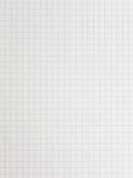 Quadratisches Papier Stockbild