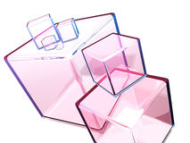 Quadratisches Quadrat Stockfotografie