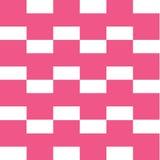 Quadratisches rosa Muster Stockfotografie
