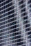 Quadratisches strukturiertes Gebäude Stockfotografie