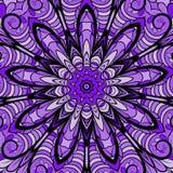 Quadratisches violettes Muster Lizenzfreie Stockfotografie