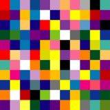 Quadrato astratto Fotografia Stock
