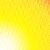Quadrato astratto su fondo giallo arancione illustrazione vettoriale