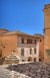 Quadrato centrale di Montblanc Fotografia Stock