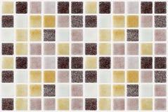 Quadrato colorato mattonelle di marmo del mosaico fotografia stock