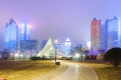 Quadrato culturale caratteristico di Qingdao Immagine Stock