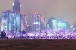 Quadrato culturale caratteristico di Qingdao Fotografia Stock Libera da Diritti