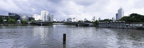Quadrato culturale del lago ad ovest Fotografia Stock Libera da Diritti