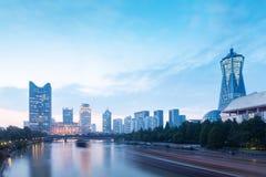 Quadrato culturale del lago ad ovest a Hangzhou immagine stock libera da diritti