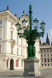 Quadrato del castello di Praga Immagine Stock Libera da Diritti