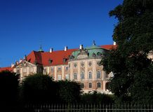 Quadrato del castello a Varsavia Immagine Stock Libera da Diritti
