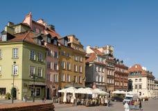 Quadrato del castello a Varsavia, Polonia Fotografie Stock
