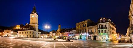 Quadrato del Consiglio, Romania immagini stock libere da diritti