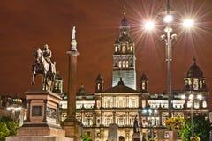 Quadrato del George, Glasgow Fotografia Stock Libera da Diritti
