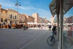Quadrato del mercato Fotografia Stock Libera da Diritti