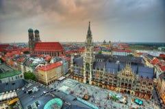 Quadrato del mercato di Monaco di Baviera fotografia stock